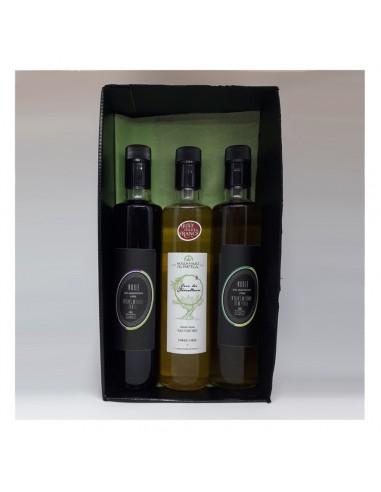 42. 3 bouteilles d huile 500 ml