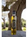 Huile pour assaisonnement extraite d'olive, de citron et de fenouil