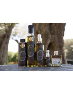 Huile pour assaisonnement extraite d'olive, de persil et d'ail lot n°11