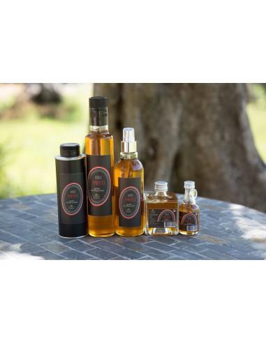 Huile pour assaisonnement extraite d'olive et de piment lot n°9