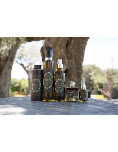 Huile pour assaisonnement extraite d'olives, de coriandre et de citronnelle lot N°13