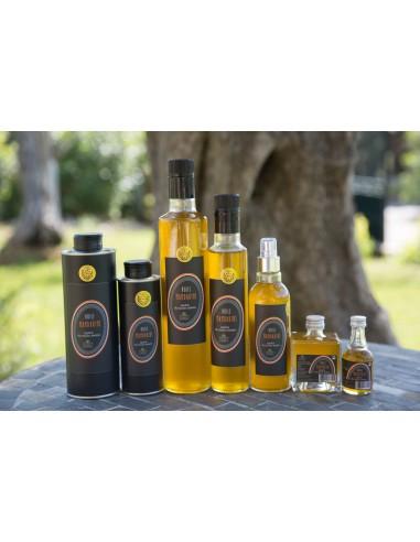 Huile pour assaisonnement extraite d'olive et de mandarine lot n°12