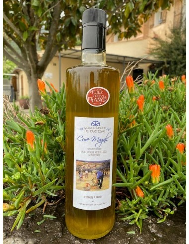 Bouteille huile d'olive 750 ml Cuvée Magali lot n°4