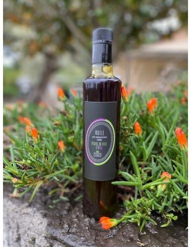 Bouteille de 50 cl basilic ail