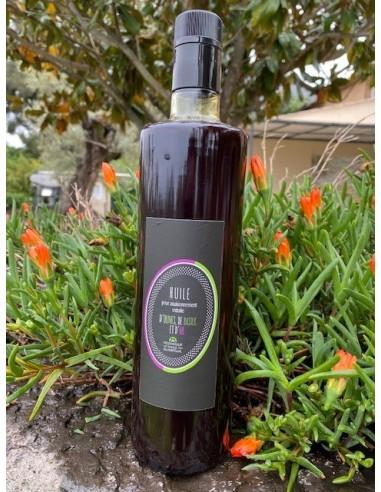 Bouteille 75 cl basilic ail
