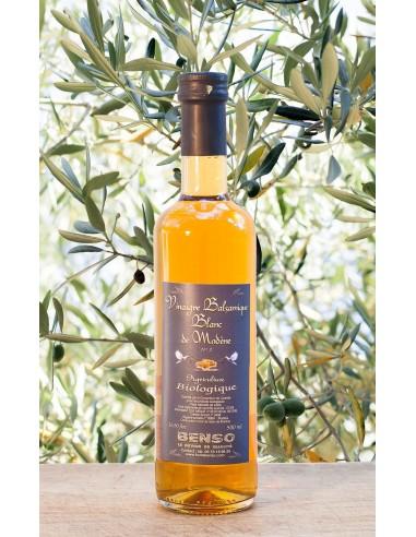 Vinaigre Balsamique Blanc De Modène Biologique - 2 Ans age - 250 ml