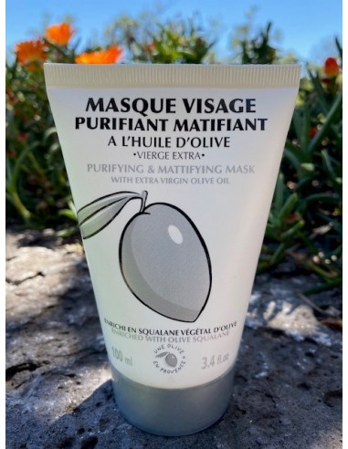 Masque visage matifiant 100 ml