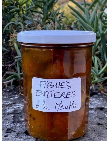 Figues entière à la menthe pot 460 g