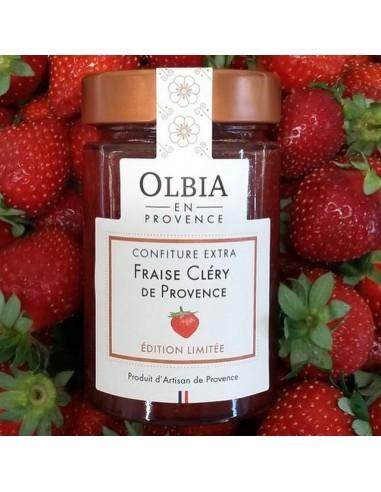 Confiture Fraise Cléry de Provence 230 g
