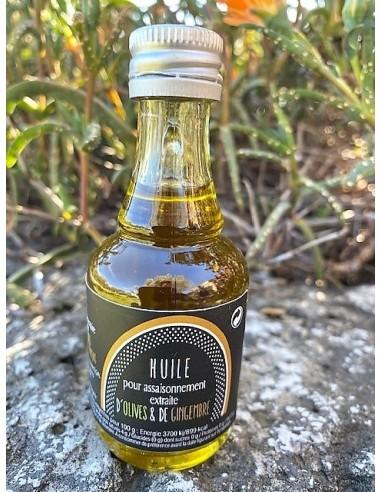 Mignonette huile parfumée 40 ml gingembre lot n°20