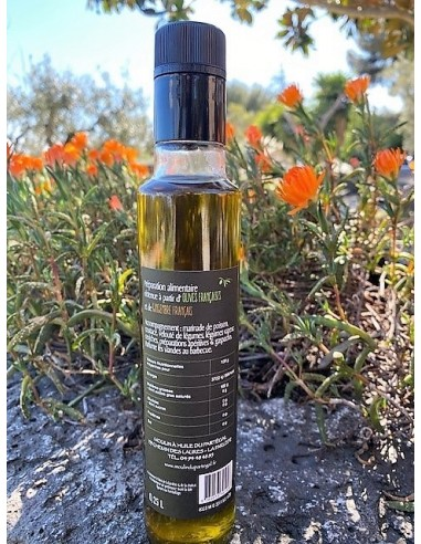 Bouteille huile parfumée 250 ml gingembre lot n°20