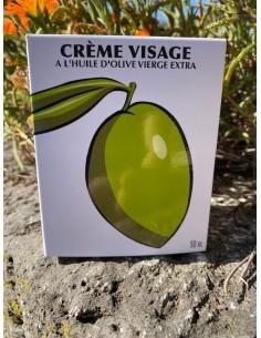 Crème visage Squalane d'olive 50 ml