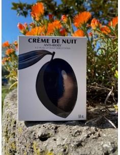 Crème de nuit antirides 50 ml