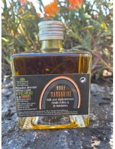 Bouteille huile parfumée 100 ml Mandarine lot n°12