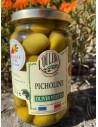 Olives Vertes au Naturel - Picholines Bocal 200 G