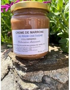 Crème de marrons au Rhum Châtaigne 250 g