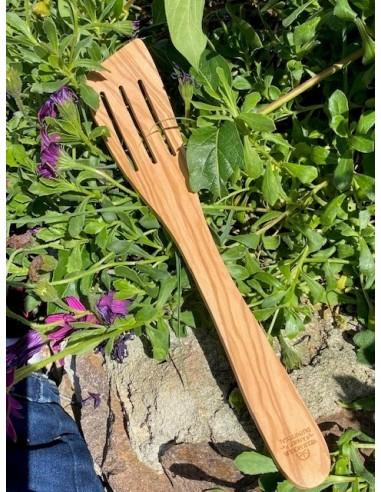 Spatule galbée Provence striée  Naturel 30 cm