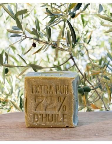 Savon de Marseille 300 g (poids pris sur savon frais)