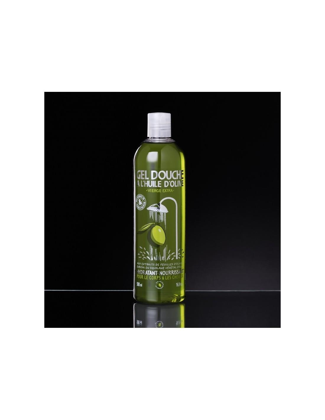 gel douche l 39 huile d 39 olive vierge extra et aux extraits de fleurs d 39 oliviers 500 ml vieux. Black Bedroom Furniture Sets. Home Design Ideas