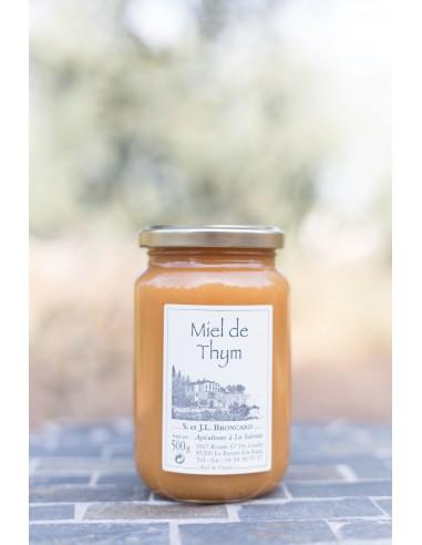 500 g jar thyme honey