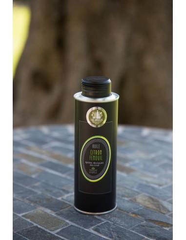 Iron bottle 25 cl Cuve lemon-fennel