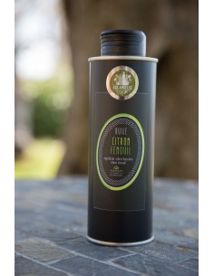 Bidon métal huile parfumée 500 ml Citron-fenouil lot n°7