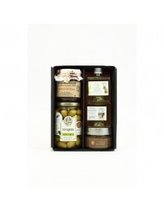 10. Duo bouteilles 100 ml + 1 olives de table ou miel + 1 confiture