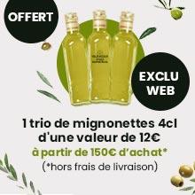 Cadeau huile d'olive de Provence
