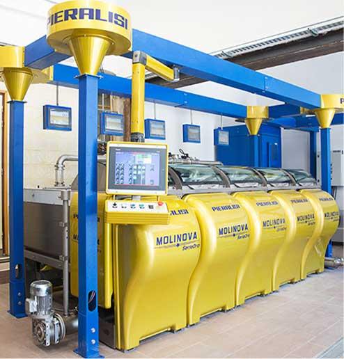 Machine production huile d'olive