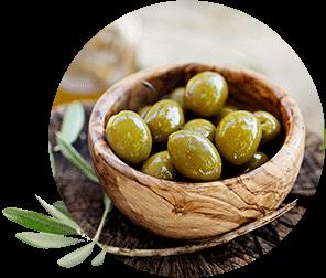 Dégustation d'olives